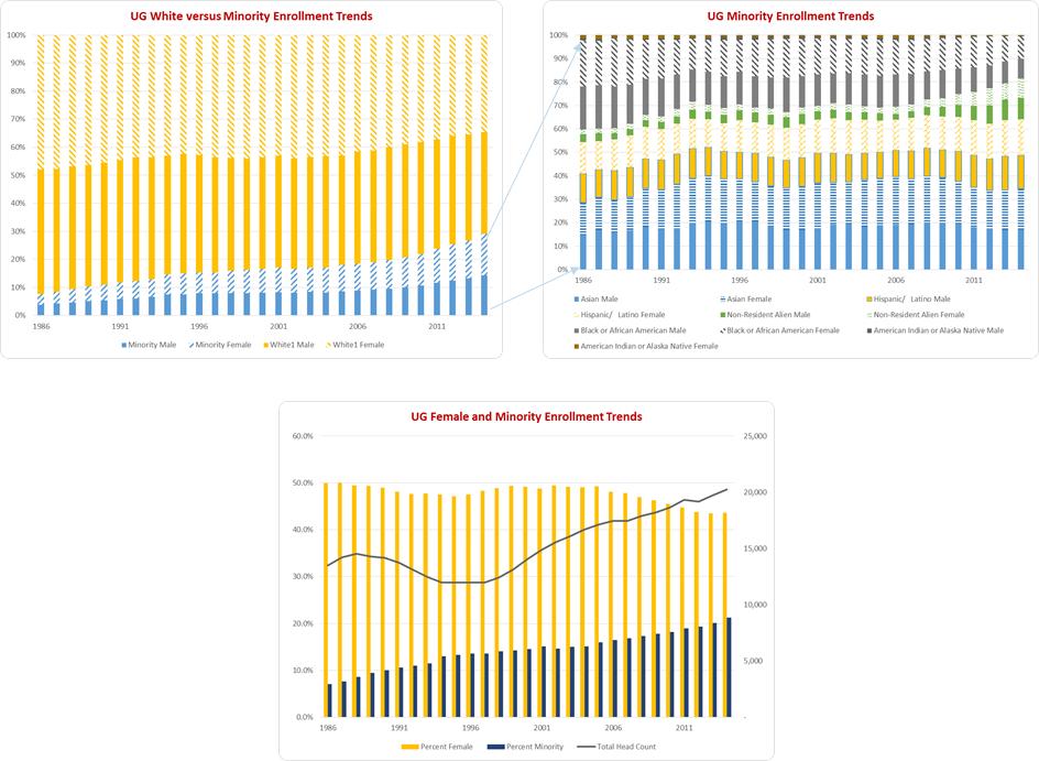 2015 Diversity Task Force Report - Appendix B - UG Student Enrollment